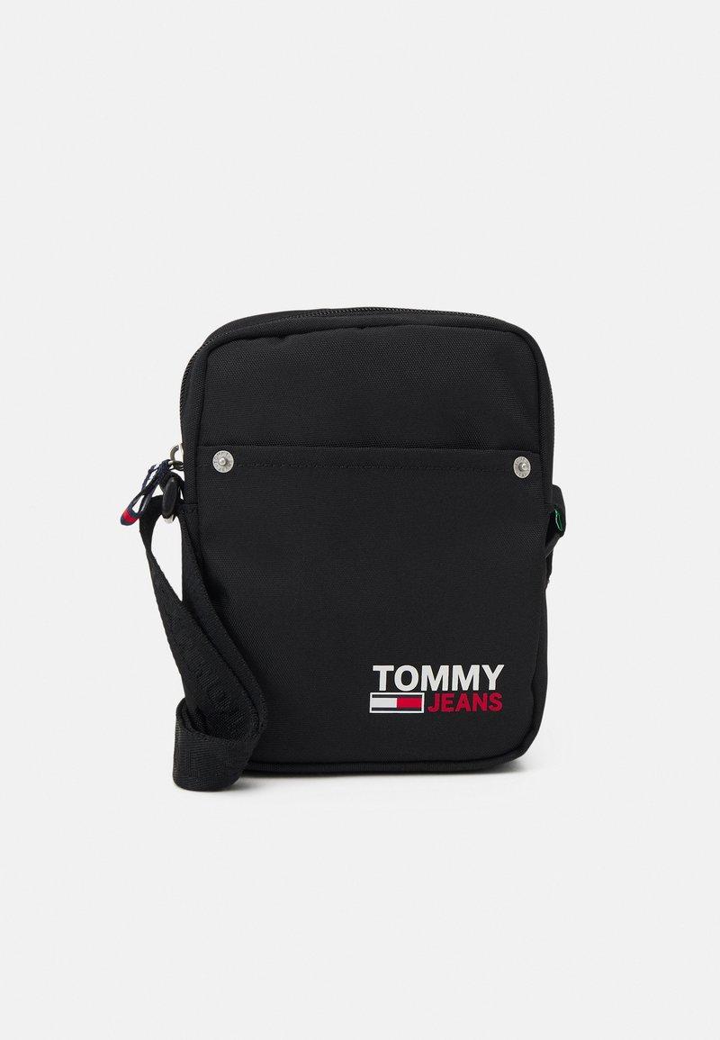Tommy Jeans - CAMPUS REPORTER UNISEX - Taška spříčným popruhem - black