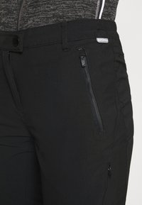 Regatta - HIGHTON - Friluftsbukser - black - 4