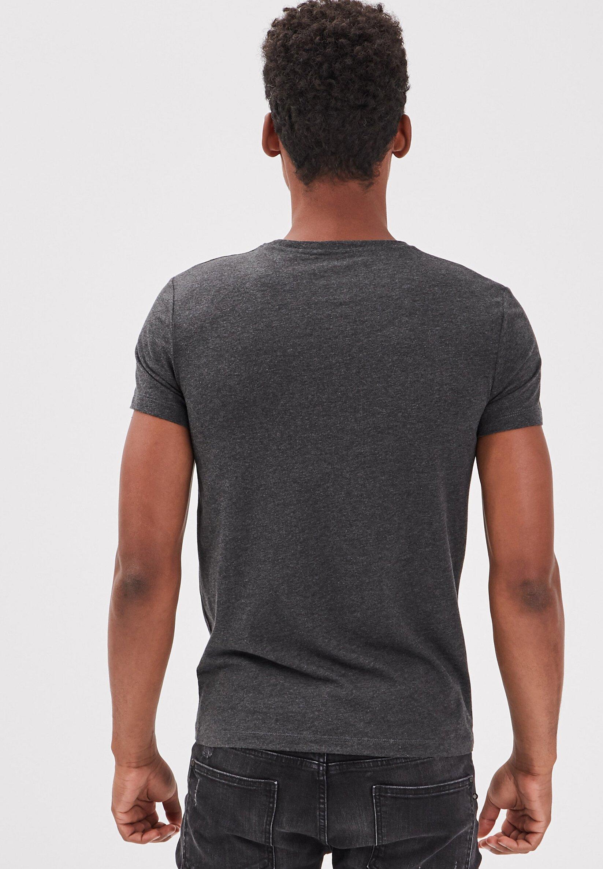 Bonobo Jeans T-shirt Print - Gris Foncé