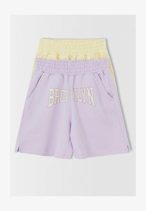 2 PACK - Shorts - purple