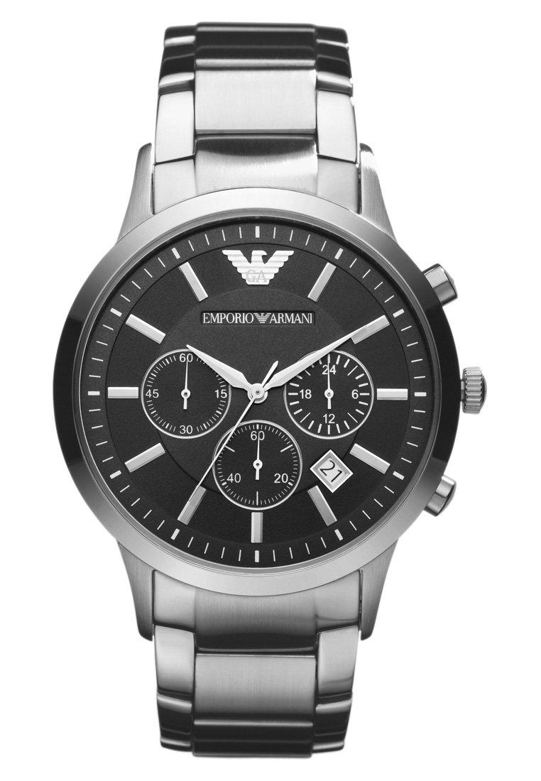 Emporio Armani - Cronografo - silver-coloured