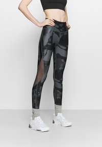 Under Armour - ROCK ANKLE LEGGING - Leggings - pitch gray - 0