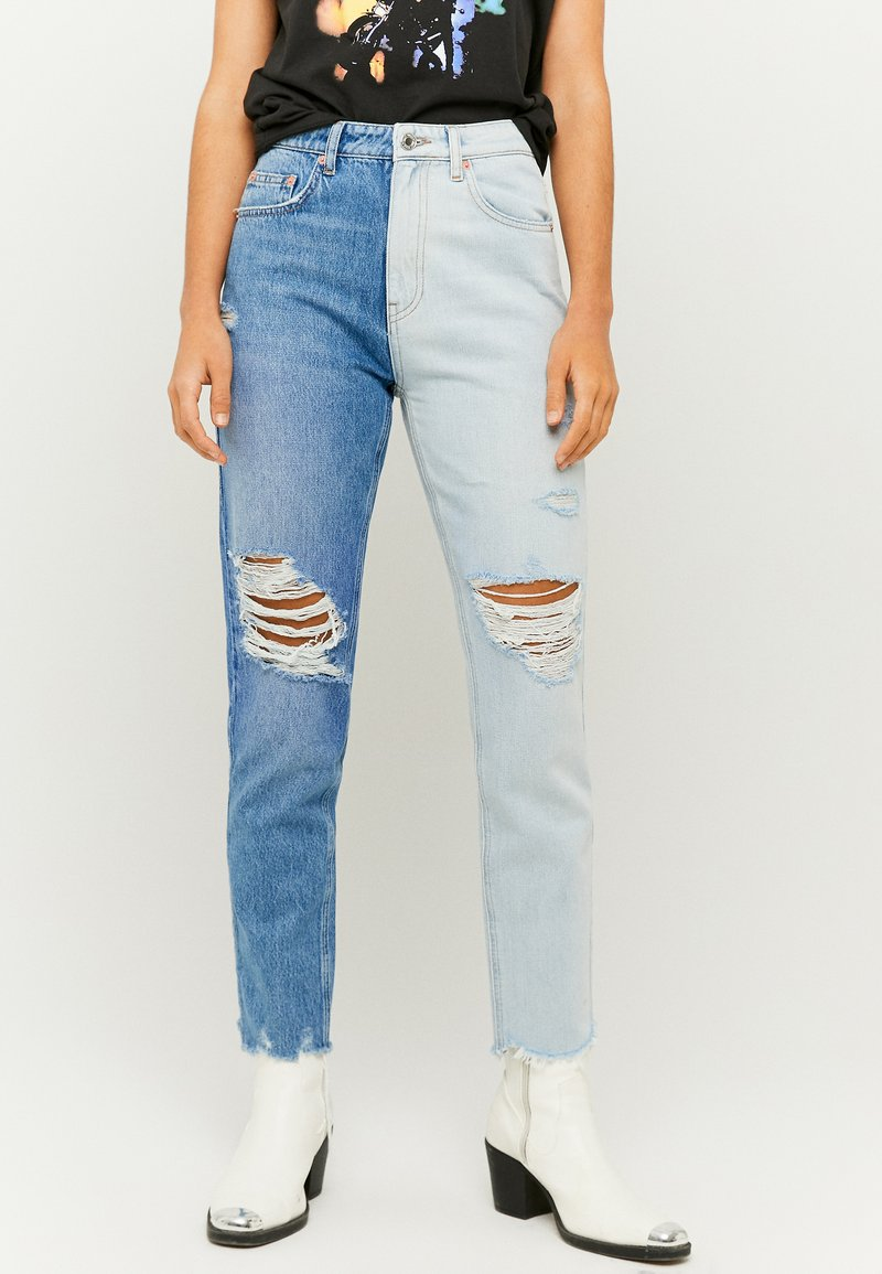 TALLY WEiJL - Jeans Slim Fit - blue denim