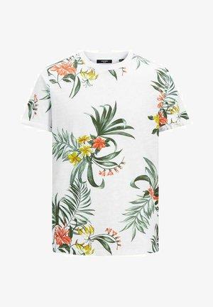 BOTANIK - T-shirt con stampa - white