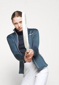 J.LINDEBERG - KATI GOLF MID LAYER - Fleece jacket - orion blue - 3