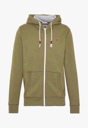 ZIPTHROUGH - Zip-up hoodie - uniform olive