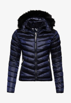 LUXE CHEVRON FUJI  - Winterjacke - navy tansanite