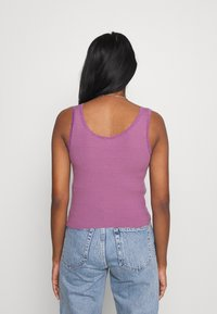 BDG Urban Outfitters - PICOT TRIMMED TANK - Top - grape - 2