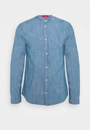 MAO SHIRT - Shirt - mid indigo