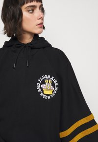 Henrik Vibskov - FLUSH KISS HOODIE - Long sleeved top - hoodie oodie black
