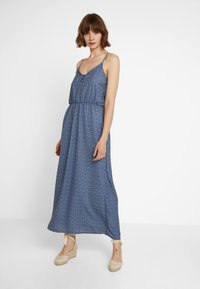 ONLY - ONLDIANA STRAP DRESS - Maxi dress - blue horizon - 0