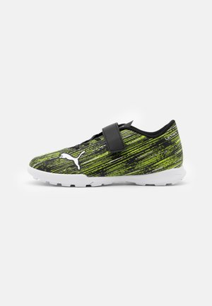 ULTRA 4.2 TT V UNISEX - Astro turf trainers - black/white/yellow alert