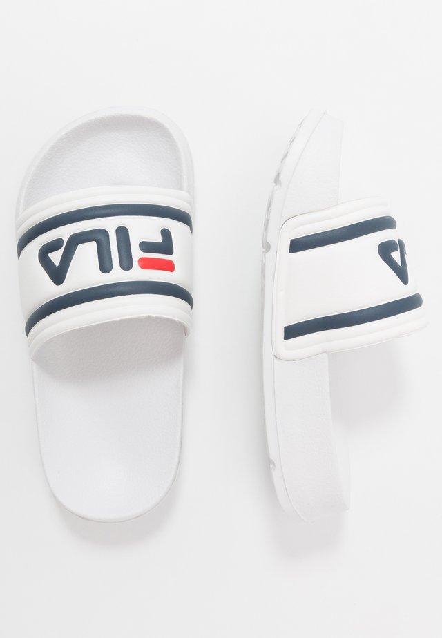 MORRO BAY UNISEX - Pantofle - white
