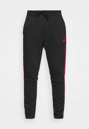 Pantaloni sportivi - black/scarlet