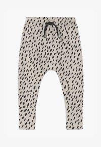 Papu - BAGGY UNISEX - Kalhoty - canvas grey/black - 0