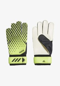 adidas Performance - PREDATOR TRAINING GOALKEEPER GLOVES - Goalkeeping gloves - green - 0