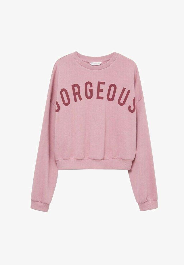 GORGEOUS - Sweatshirt - lyserød