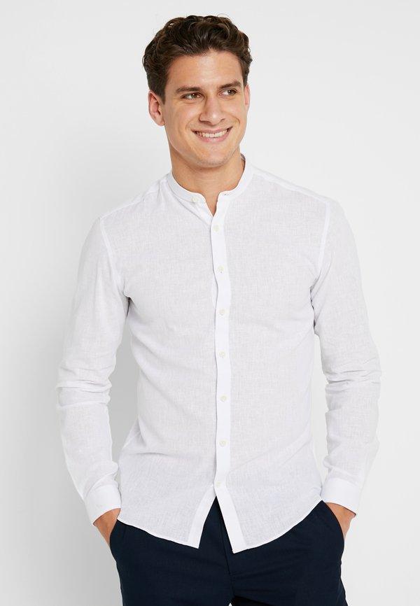 Lindbergh Koszula - white/biały Odzież Męska GGUM