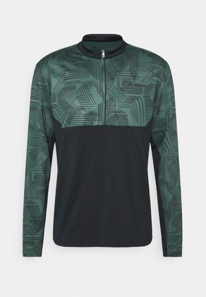 MENS VIRT QZIP  - Long sleeved top - dusty forest