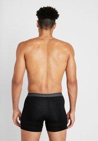 Icebreaker - ANATOMICA BOXERS - Underkläder - black - 2