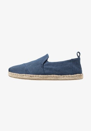 DECONSTRUCTED ALPARGATA ROPE - Espadrillas - navy