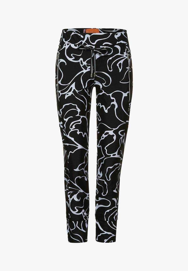 Street One - Tracksuit bottoms - schwarz