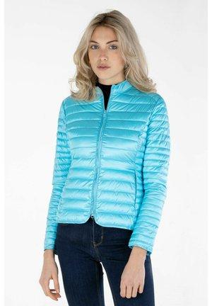 Winter jacket - pool blue