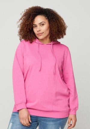 Hoodie - phlox pink
