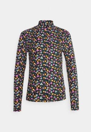 NEYO MINI FLOWER PEACHED - Tops ar garām piedurknēm - multicolor