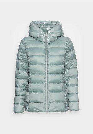 PER LL F THINSU - Down jacket - dusty green