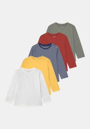 5 PACK UNISEX - Top s dlouhým rukávem - multi-coloured