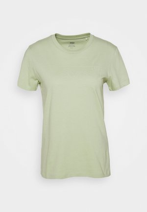 THE PERFECT TEE BATWING OUTLINE BOK CHOY - Triko s potiskem - greens