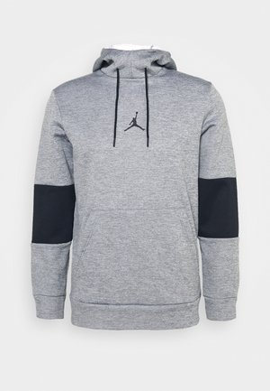 AIR THERMA - Kapuzenpullover - carbon heather/black/black