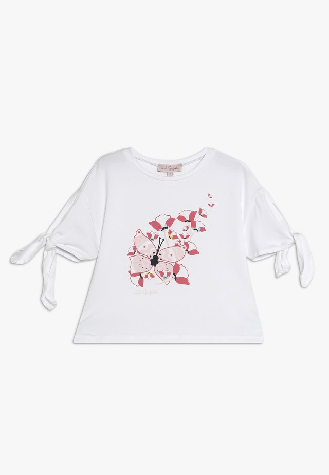 GROVE - T-shirt con stampa - blanc