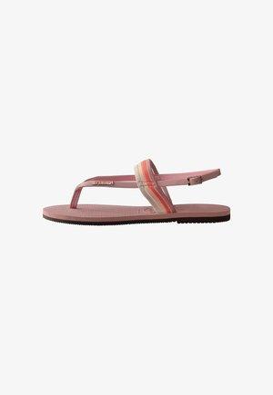 YOU FLORIPA - T-bar sandals - pink