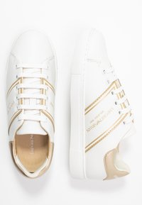 Emporio Armani - BELLA - Sneaker low - white/light gold - 3