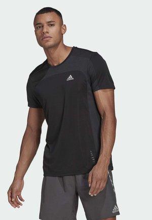 HEAT.RDY RUNNING T-SHIRT - Basic T-shirt - black