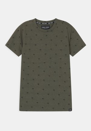 HOUSTON  - T-shirt con stampa - army