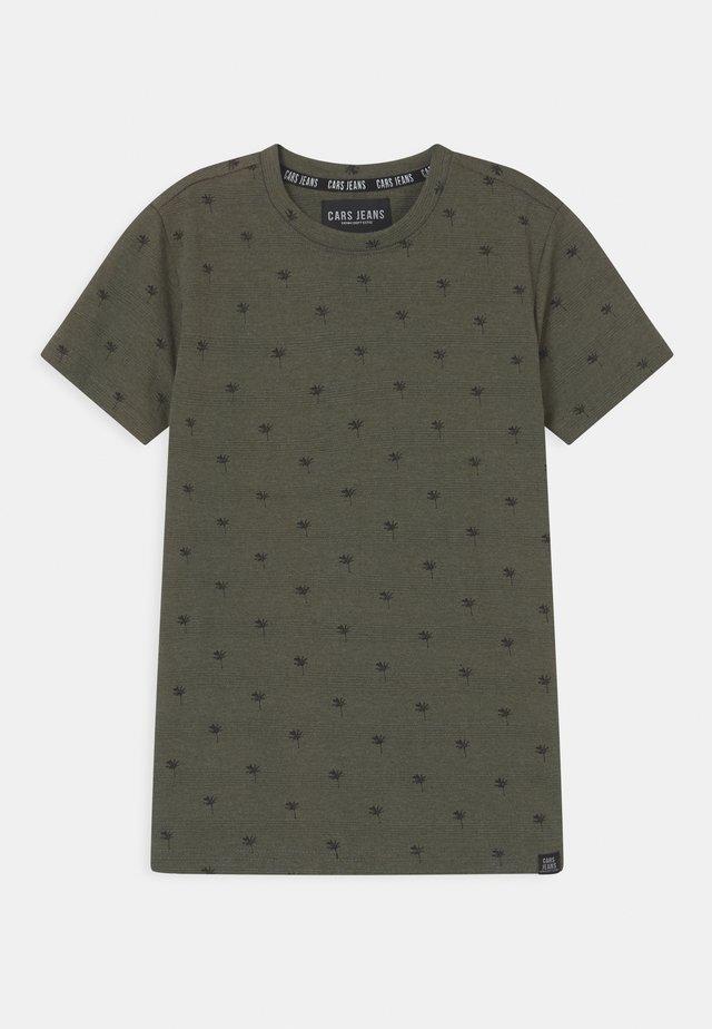 HOUSTON  - T-shirt imprimé - army