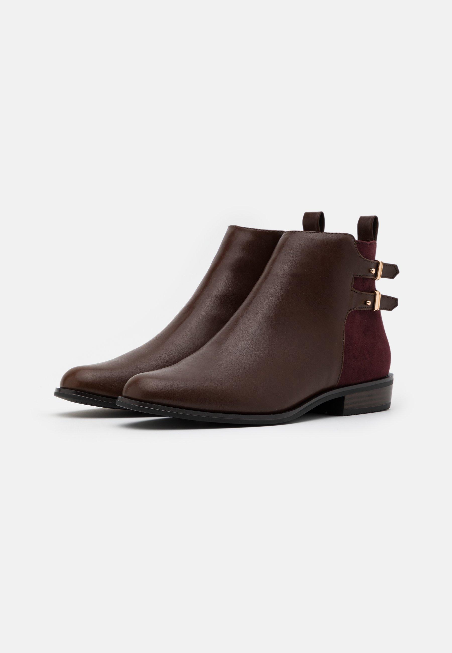 Anna Field Ankle Boot dark brown/dunkelbraun