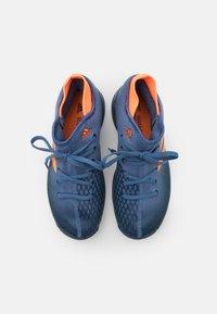 adidas Performance - JR UNISEX - Multicourt tennis shoes - crew navy/orange/crew blue - 3