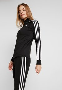 adidas Performance - 3STRIPES DESIGNED2MOVE SPORT TRACK TOP - Træningsjakker - black/white - 4