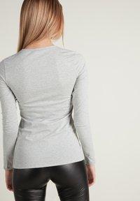 Tezenis - Long sleeved top - grigio melange chiar - 1