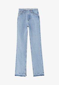 PULL&BEAR - Straight leg jeans - blue - 6