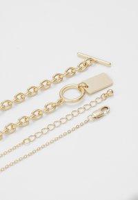 Pieces - PCDUNIO COMBI NECKLACE KEY 2 PACK - Necklace - gold-coloured - 2