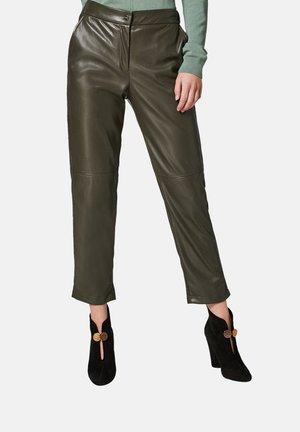 Trousers - pesto