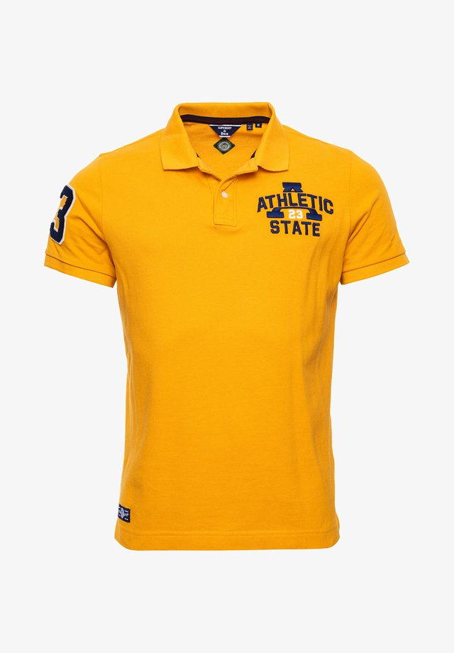 Polo shirt - upstate gold