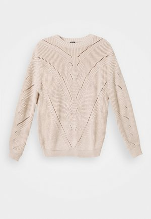 EMMA SWEATER - Jumper - ivory bone