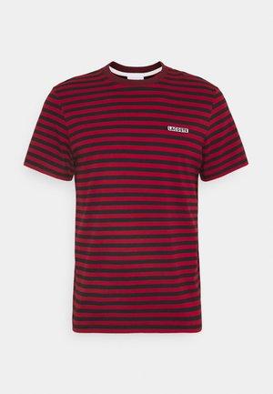 Print T-shirt - alizarine/abimes