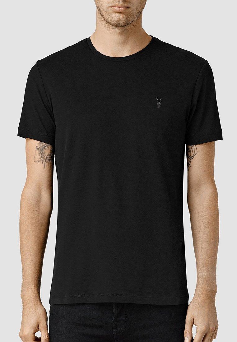 AllSaints - BRACE - Basic T-shirt - ink navy